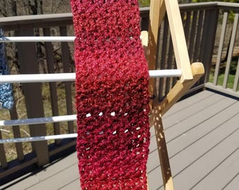 Multi shades of red Scarf