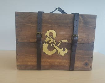Have Adventure, Will Travel - DM Travel Case, Screen, and Storage for Table Top Role Playing games (D&D, Pathfinder)