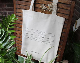 Recycled cotton Totebag