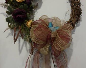 Medium sized grapevine wreath