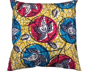 Cushion Covers 50cm x 50cm - Print Double sides - 100% Cotton - Pillow Case Covers with Zipper Square for Sofa 20x20inch