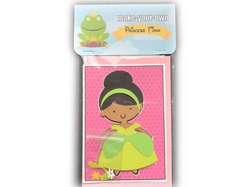 Tiana paper doll