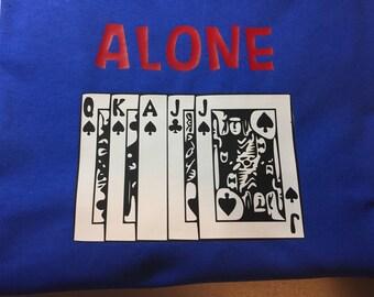 Euchre Alone Tshirt