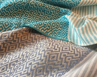 Handwoven 100% Turkish cotton throws