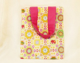Pretty in Pink Zoo Tote Bag