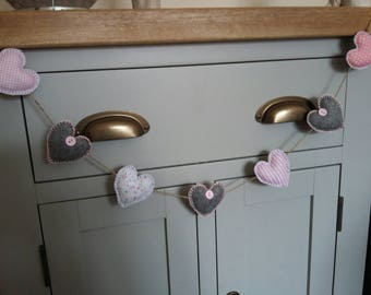 Handmade Heart Garlands