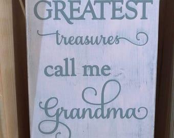 Grandma Wood Sign