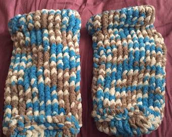 Cozy knit slipper socks