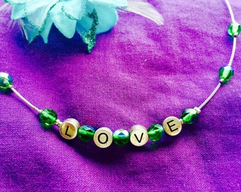 Love is all you need NECKLACE for lovin ones
