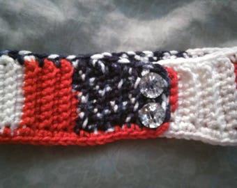 Crochet baby headband