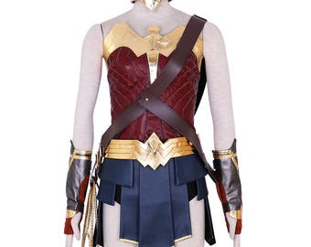 Kids & Women Wonder Woman Princess Diana Cosplay Costume