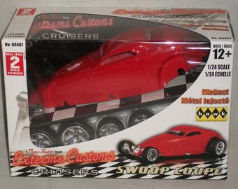 Hawk 1/24 Scale Extreme Customs Swoop Coupe ( open box)
