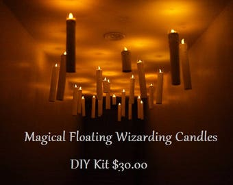 Magical Floating Wizarding Candles -DIY Kit