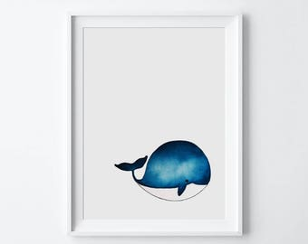 Whale illustration * customizable