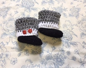 Slippers baby booties crochet, baby UGG boots, slippers, Baby Shower