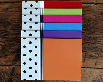 VersaNotes™ Hepburn Dots Notecards (Set of 10)