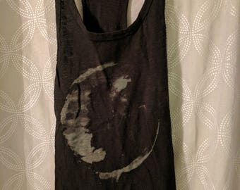 Black moon tank top
