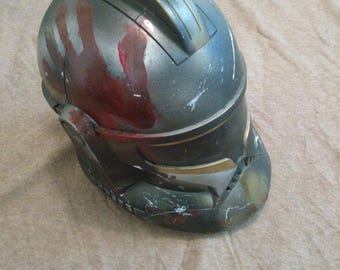 Custom painted Clone trooper helmet