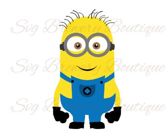 Minion, despicable me SVG (layered), PNG, DXF, Cricut, silhouette cameo, cut file, vinyl decal, t shirt design, birthday theme,