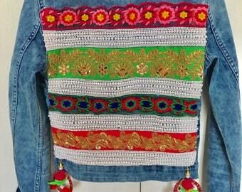 Boho chic jacket