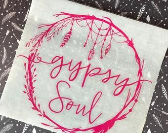 Gypsy Soul Decal
