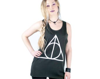 Harry Potter Deathly Hallows tank top t shirt