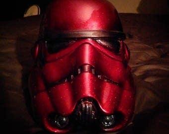 Kandy red Stormtrooper helmets