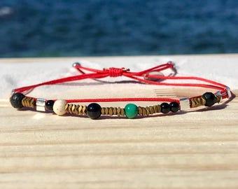 Bracelet red Hematites