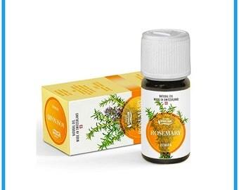 Organic Rosemary Essential Oil Genuine (Grade A) Swiss Made