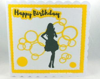 Birthday card for women