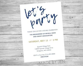 generic party invitations