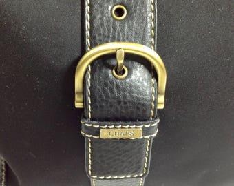 Chaps est. 1978 black women's shoulder bag