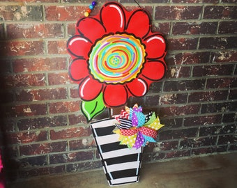 Flower Doorhanger summer spring