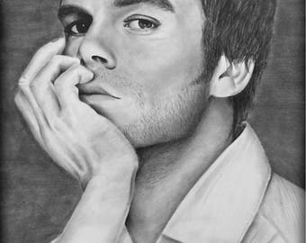 Graphite Drawing- Dexter