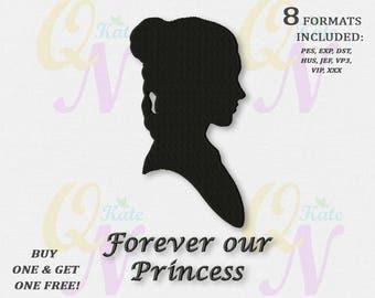 BOGO FREE! Star Wars Princess Leia Machine Embroidery Designs, Star Wars Embroidery Designs, Forever our Princess, #066