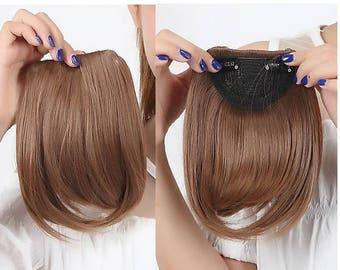 Bangs - synthetic hair