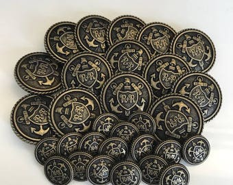 Supplies- Military Inspired Buttons