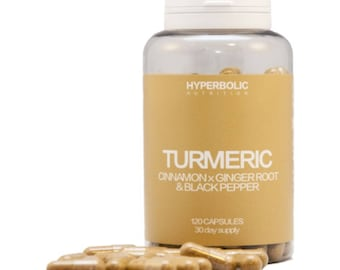 Turmeric Complex with Cinnammon, Ginger Root & Black Pepper