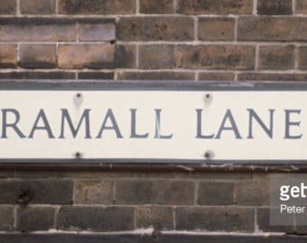 Bramall Lane road sign