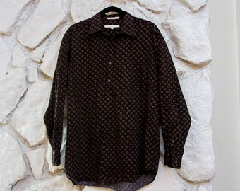 Rad Patterned Button Down