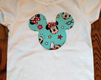 Handmade Minnie Mouse Shirt