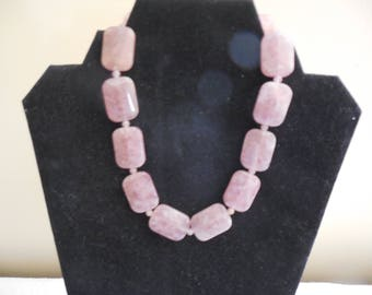 Pink Adventurine Necklace