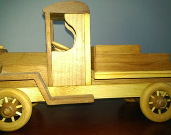 Wood toy truck ccab_1