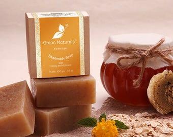 Handmade Soap - Honey Oatmeal