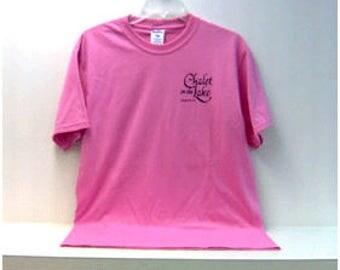 Chalet on the Lake resort T Shirt
