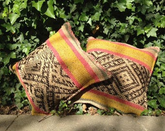 Handmade Cushion cover. Single piece.