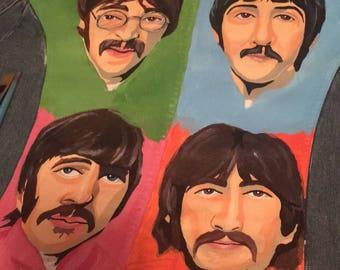 Custom Beatles Denim Jacket