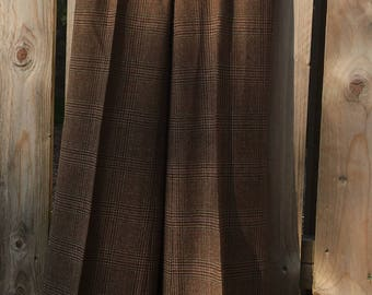 Ralph Lauren Wool Trousers Tweed Oxford Bags U.K. 8 US 4