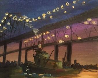 Mississippi River Tug Boat