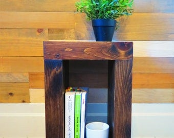 Solid Pine Wood Night Stand, End Table, Coffee Table, Night Table